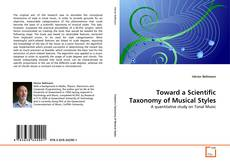 Обложка Toward a Scientific Taxonomy of Musical Styles