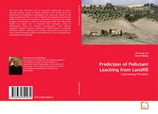 Prediction of Pollutant Leaching from Landfill的封面