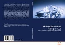 Copertina di From OpenSocial to Enterprise 2.0