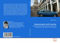 Bookcover of Governments and Tourism
