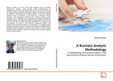 Buchcover von A Business Analysis Methodology