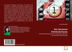 Capa do livro de Der Deutsche Filmförderfonds