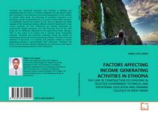 Bookcover of FACTORS AFFECTING INCOME GENERATING ACTIVITIES IN ETHIOPIA