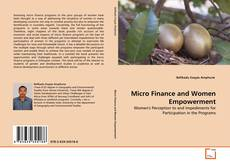 Bookcover of Micro Finance and Women Empowerment