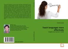Обложка Teach languages more effectively