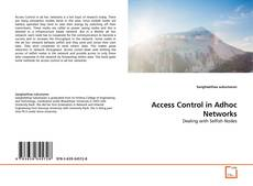 Bookcover of Access Control in Adhoc Networks
