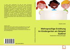 Portada del libro de Mehrsprachige Erziehung im Kindergarten am Beispiel Südtirol
