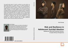 Buchcover von Risk and Resilience in Adolescent Suicidal Ideation