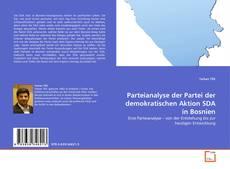 Capa do livro de Parteianalyse der Partei der demokratischen Aktion SDA in Bosnien