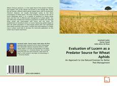 Portada del libro de Evaluation of Lucern as a Predator Source for Wheat Aphids