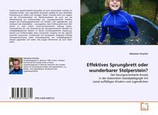 Portada del libro de Effektives Sprungbrett oder wunderbarer Stolperstein?