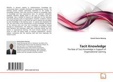 Bookcover of Tacit Knowledge