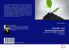 Buchcover von Umwelt- und Nachhaltigkeitsethik