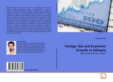 Capa do livro de Foreign Aid and Economic Growth in Ethiopia