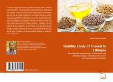 Couverture de Stability study of linseed in Ethiopia
