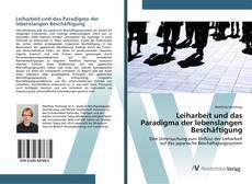 Capa do livro de Leiharbeit und das Paradigma der lebenslangen Beschäftigung