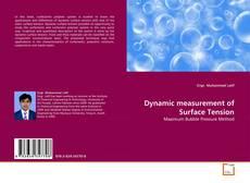 Borítókép a  Dynamic measurement of Surface Tension - hoz