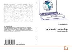 Bookcover of Academic Leadership