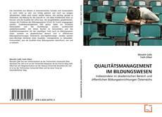 Обложка QUALITÄTSMANAGEMENT IM BILDUNGSWESEN