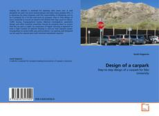 Capa do livro de Design of a carpark
