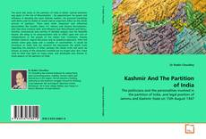 Bookcover of Kashmir And The Partition of India