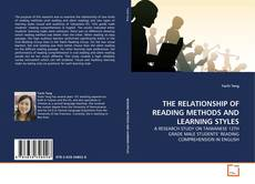 Copertina di THE RELATIONSHIP OF READING METHODS AND LEARNING STYLES