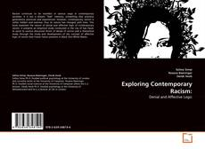 Bookcover of Exploring Contemporary Racism: