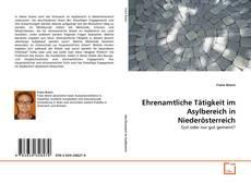 Bookcover of Ehrenamtliche Tätigkeit im Asylbereich in Niederösterreich