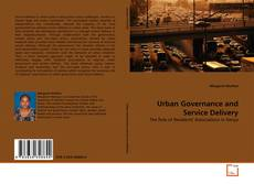 Bookcover of Urban Governance and Service Delivery