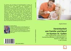 Portada del libro de Vereinbarkeit von Familie und Beruf im Kanton St. Gallen