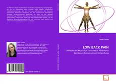 Bookcover of LOW BACK PAIN