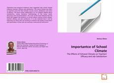 Capa do livro de Importantce of School Climate