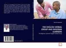 Couverture de THE ENGLISH VERBAL GROUP AND NIGERIAN LEARNERS
