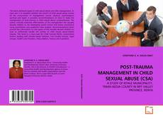 Capa do livro de POST-TRAUMA MANAGEMENT IN CHILD SEXUAL ABUSE (CSA)