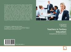 Bookcover of Teachers in Tertiary Education: