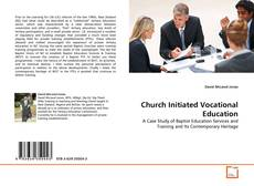 Bookcover of Church Initiated Vocational Education