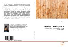 Couverture de Teacher Development