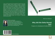 Buchcover von Why did the Doha Round fail?
