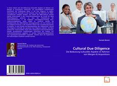 Bookcover of Cultural Due Diligence