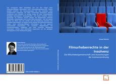 Filmurheberrechte in der Insolvenz kitap kapağı