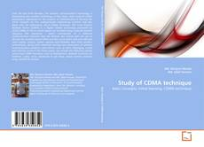 Copertina di Study of CDMA technique