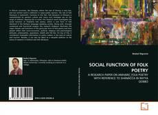 Buchcover von SOCIAL FUNCTION OF FOLK POETRY