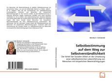Capa do livro de Selbstbestimmung auf dem Weg zur Selbstverständlichkeit