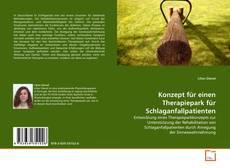 Bookcover of Konzept für einen Therapiepark für Schlaganfallpatienten