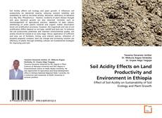 Обложка Soil Acidity Effects on Land Productivity and Environment in Ethiopia