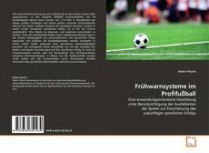 Bookcover of Frühwarnsysteme im Profifußball