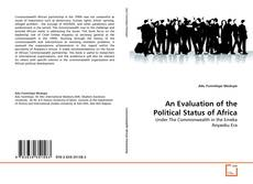 Buchcover von An Evaluation of the Political Status of Africa