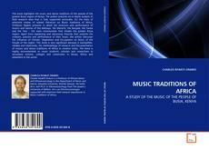 Copertina di MUSIC TRADITIONS OF AFRICA