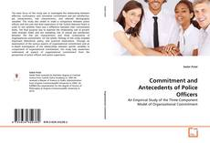 Bookcover of Commitment and Antecedents of Police Officers