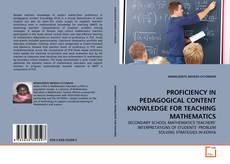 Обложка PROFICIENCY IN PEDAGOGICAL CONTENT KNOWLEDGE FOR TEACHING MATHEMATICS